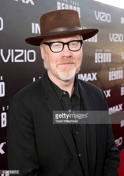 TV personality Adam Savage attends the premiere of Paramount Pictures' 'Star Trek Beyond' at Embarcadero Marina Park South on July 20 2016 in San...