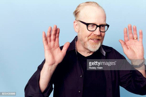TV personality Adam Savage of 'Mythbusters' poses for a portrait during ComicCon 2017 at Hard Rock Hotel San Diego on July 20 2017 in San Diego...