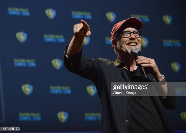 Personality Adam Savage on day 3 of Silicon Valley Comic Con 2017 held at San Jose Convention Center on April 22 2017 in San Jose California