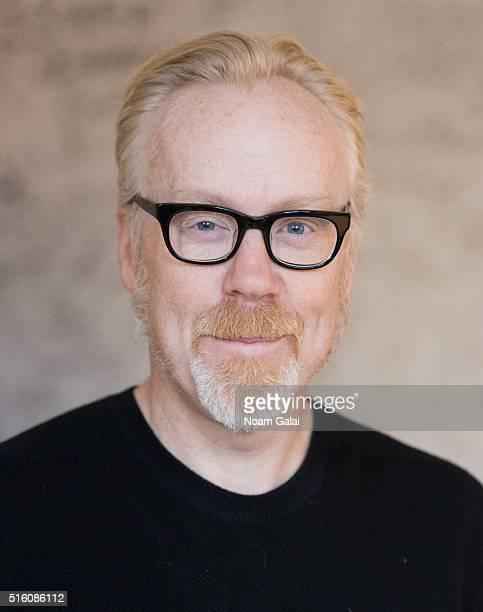TV personality Adam Savage poses for a portrait on March 01 2016 in New York City