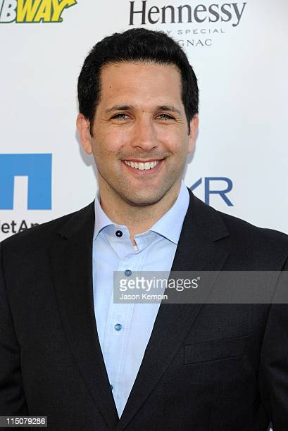 TV personality Adam Schefter attends NY Giants Justin Tuck's 3rd Annual Celebrity Billiards Tournament at Slate on June 2 2011 in New York City