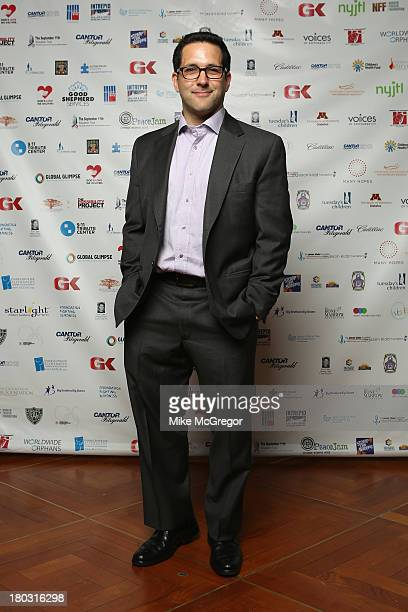 TV personality Adam Schefter fundraises for the Annual Charity Day Hosted By Cantor Fitzgerald And BGC at the Cantor Fitzgerald Office on September...