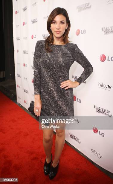 """Personality Adriana Costa attends a party for """"Haute & Bothered"""" Season 2 hosted by LG Mobile at the Thompson Hotel on May 10, 2010 in Beverly Hills,..."""