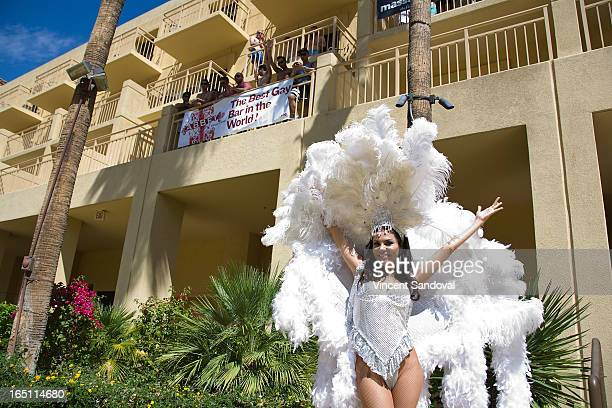 TV personality Adriana De Moura attends the SPLASH pool party during Jeffrey Sanker Presents White Party Palm Springs 2013 Day 2 at the Renaissance...