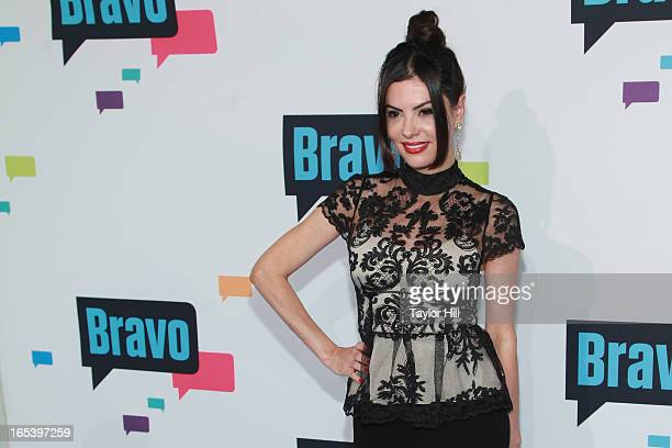 TV personality Adriana de Moura of The Real Housewives of Miami attends the 2013 Bravo Upfront at Pillars 37 Studios on April 3 2013 in New York City