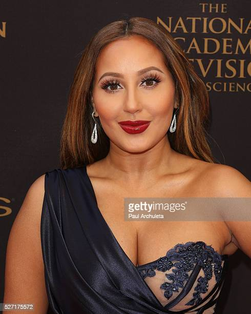 Personality Adrienne Bailon attends the 2016 Daytime Emmy Awards at The Westin Bonaventure Hotel on May 1 2016 in Los Angeles California