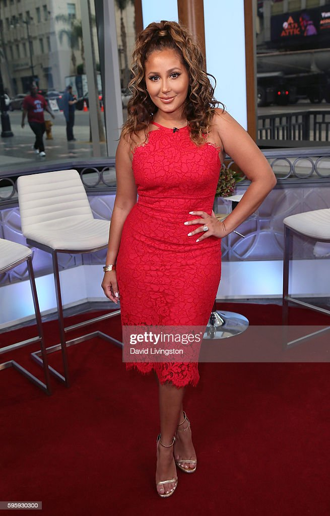 Adrienne Bailon Visits Hollywood Today Live