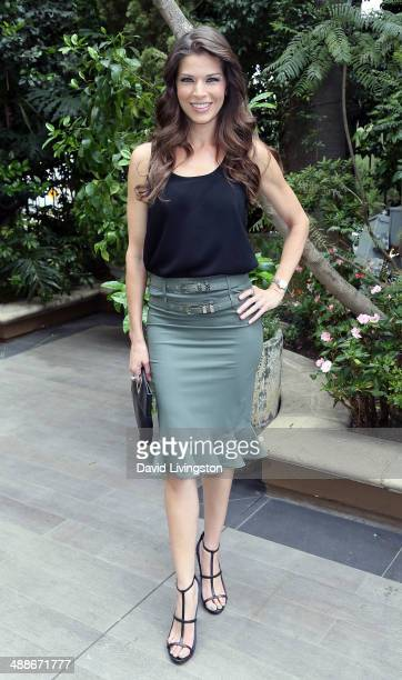 TV personality Adrienne Janic attends the ABCs Mother's Day Luncheon at the Four Seasons Hotel Los Angeles at Beverly Hills on May 7 2014 in Beverly...