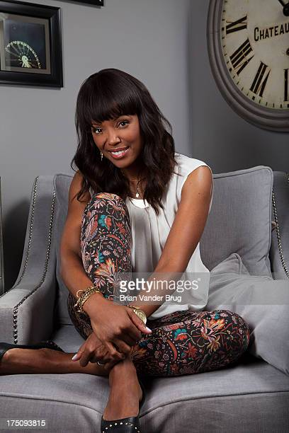 TV personality Aisha Tyler is photographed for Los Angeles Times on June 25 2013 in Studio City California PUBLISHED IMAGECREDIT MUST READ Brian...