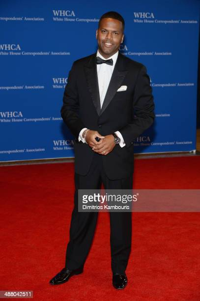 TV personality AJ Calloway attends the 100th Annual White House Correspondents' Association Dinner at the Washington Hilton on May 3 2014 in...