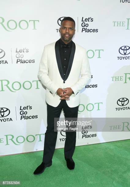 TV personality AJ Calloway attends The Root 100 gala at Guastavino's on November 9 2017 in New York City