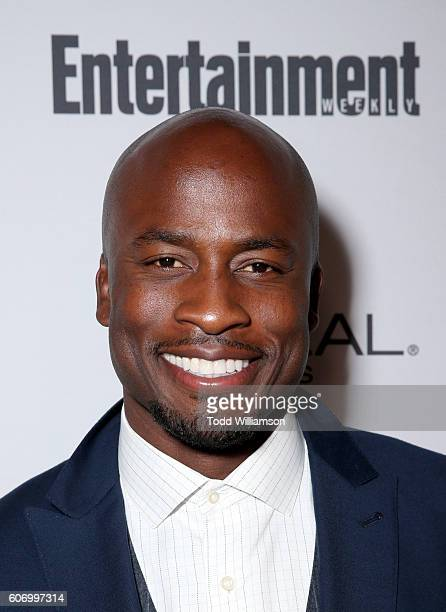 TV personality Akbar Gbajabiamila attends the 2016 Entertainment Weekly PreEmmy party at Nightingale Plaza on September 16 2016 in Los Angeles...