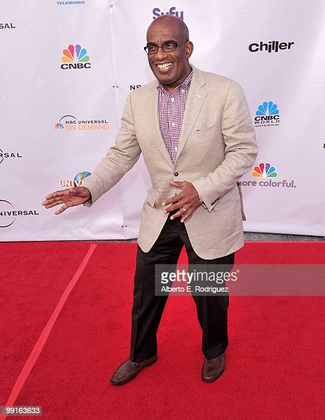 TV personality Al Roker arrives at The Cable Show 2010 An Evening With NBC Universal on May 12 2010 in Universal City California