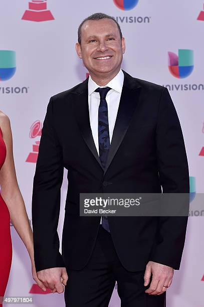 TV personality Alan Tacher attends the 16th Latin GRAMMY Awards at the MGM Grand Garden Arena on November 19 2015 in Las Vegas Nevada