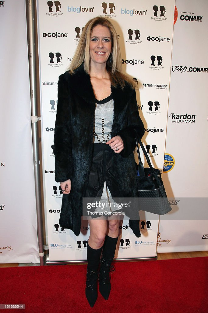 TV personality Alex McCord attends Boy Meets Girl by Stacy Igel the 'Invasion Collections' Fashion Show at STYLE360 presented by Conair Fashion Pavilion on February 13, 2013 in New York City.