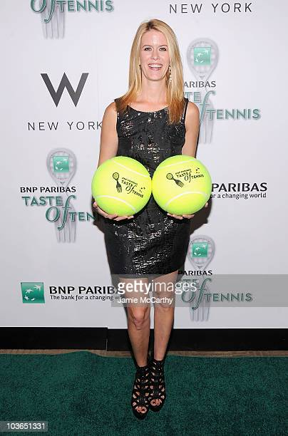 TV personality Alex McCord attends the 11th annual BNP Paribas Taste Of Tennis at the W New York on August 26 2010 in New York City