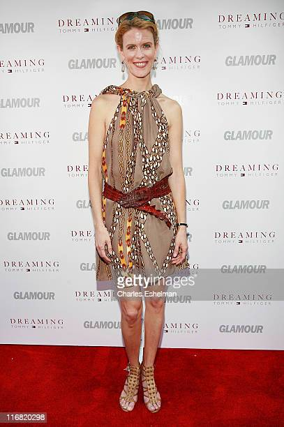 TV personality Alex McCord attends the premiere of 'Glamour Reel Docs' at the Village East Cinemas on June 24 2008 in New York City