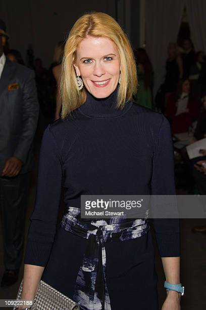 TV personality Alex McCord attends the Rolando Santana Fall 2011 presentation during MercedesBenz Fashion Week at Exit Art on February 16 2011 in New...