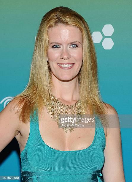 TV personality Alex McCord attends the Time Warner Cable 'Summertime is Cable Time' Upfront at Top of the Rock on June 2 2010 in New York City