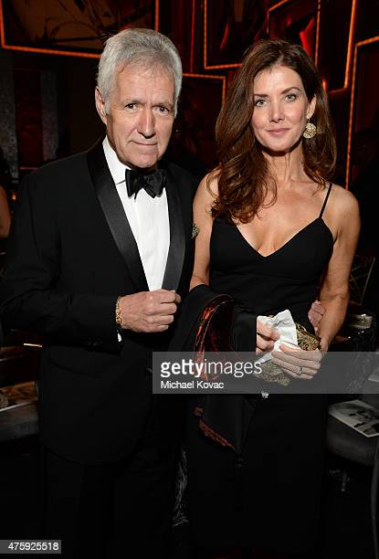 TV personality Alex Trebek and Jean Currivan Trebek attend the 43rd AFI Life Achievement Award Gala honoring Steve Martin at Dolby Theatre on June 4...