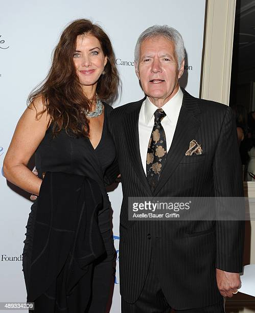 TV personality Alex Trebek and Jean Trebek arrive at the Jonsson Cancer Center Foundation's 19th Annual 'Taste For A Cure' at Regent Beverly Wilshire...