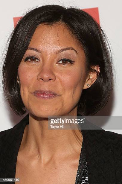 TV personality Alex Wagner attends the Bloomberg Businessweek 85th Anniversary Celebration at the American Museum of Natural History on December 4...