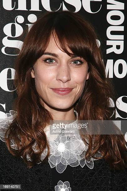 TV personality Alexa Chung attends Glamour's presentation of 'These Girls' at Joe's Pub on May 20 2013 in New York City