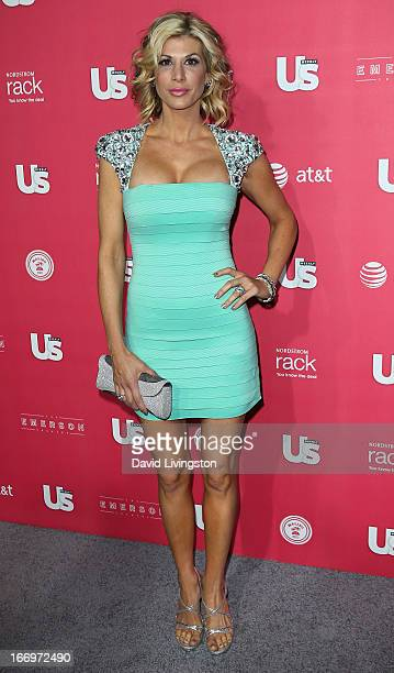 TV personality Alexis Bellino attends Us Weekly's Annual Hot Hollywood Style Issue event at the Emerson Theatre on April 18 2013 in Hollywood...