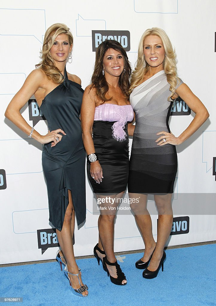 TV Personality Alexis Bellino Lynne Curtin And Gretchen Rossi Attends  Bravou0027s 2010 Upfront Party At Skylight