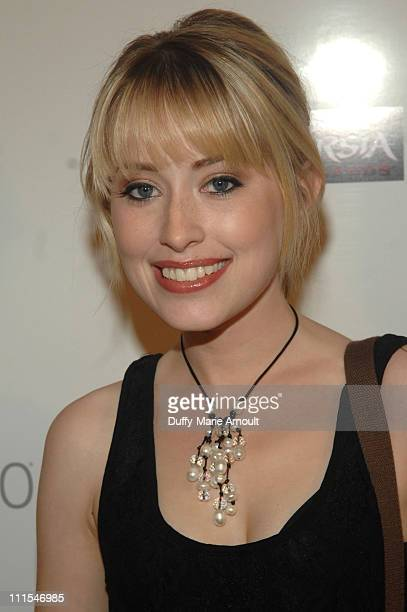 TV personality Alexis Grace arrives at the Launch of the 'Prince of Persia' video game presented by Ubisoft and Break Media at Sky Bar on May 25 2010...
