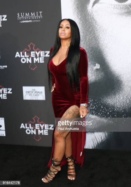 Personality Alexis Sky attends the premiere of Lionsgate's 'All Eyez On Me' on June 14 2017 in Los Angeles California