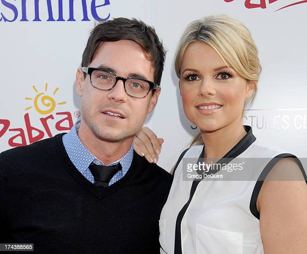 TV personality Ali Fedotowsky arrives at the Los Angeles premiere of Blue Jasmine at the Academy of Motion Picture Arts and Sciences on July 24 2013...