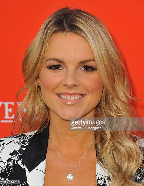 TV personality Ali Fedotowsky attends a screening of ABC Family's Pretty Little Liars Halloween episode at Hollywood Forever Cemetery on October 15...