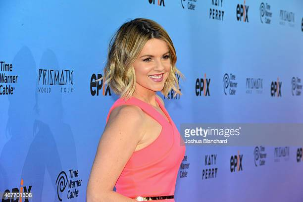 TV personality Ali Fedotowsky attends EPIX and Time Warner Cable World Premier Screening Of Katy Perry The Prismatic World Tour at The Theater at Ace...