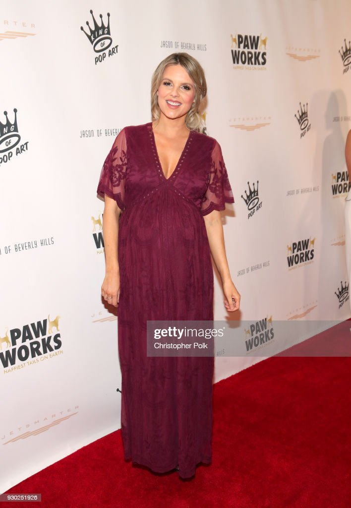 TV personality Ali Fedotowsky attends the James Paw 007 Ties & Tails Gala at the Four Seasons Westlake Village on March 10, 2018 in Westlake Village, California.