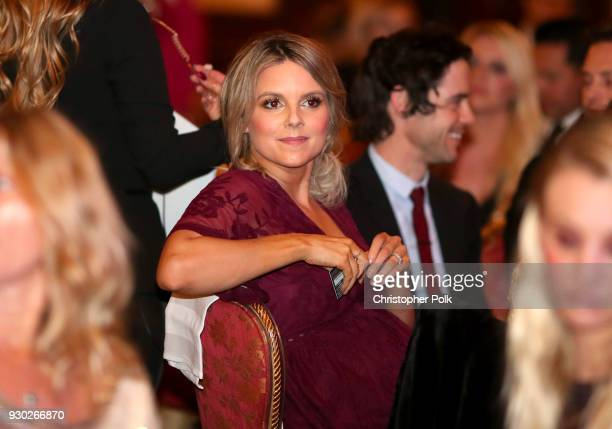 TV personality Ali Fedotowsky attends the James Paw 007 Ties Tails Gala at the Four Seasons Westlake Village on March 10 2018 in Westlake Village...