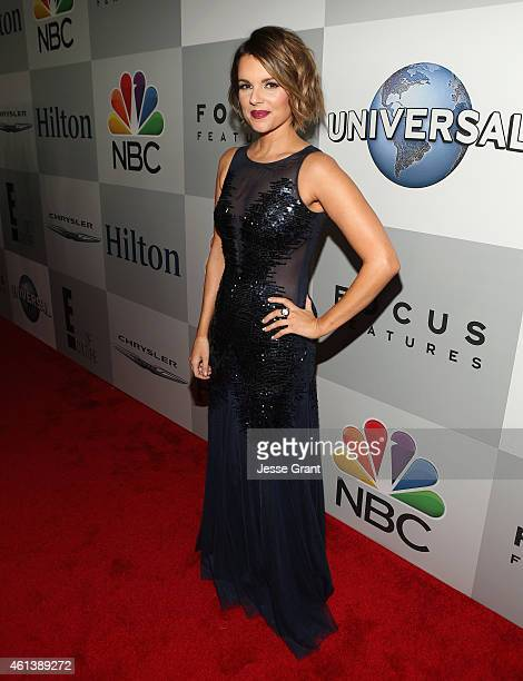 Personality Ali Fedotowsky attends Universal NBC Focus Features and E Entertainment 2015 Golden Globe Awards After Party sponsored by Chrysler and...