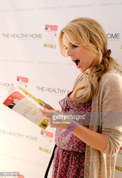 TV personality Ali Fedotowsky attends USANA at Kari Feinstein's Academy Awards Style Lounge at Montage Beverly Hills on February 24 2011 in Beverly...