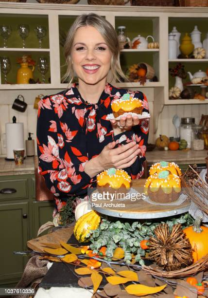 Personality Ali Fedotowsky visits Hallmark's Home Family at Universal Studios Hollywood on September 21 2018 in Universal City California