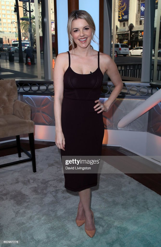 TV personality Ali Fedotowsky-Manno visits Hollywood Today Live at W Hollywood on March 13, 2017 in Hollywood, California.