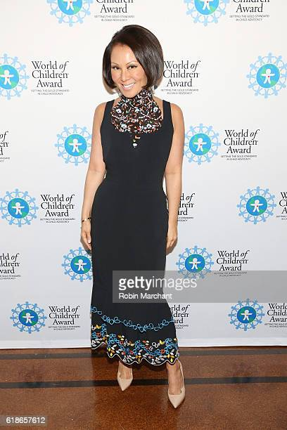 TV personality Alina Cho attends the World of Children Awards Ceremony on October 27 2016 in New York City