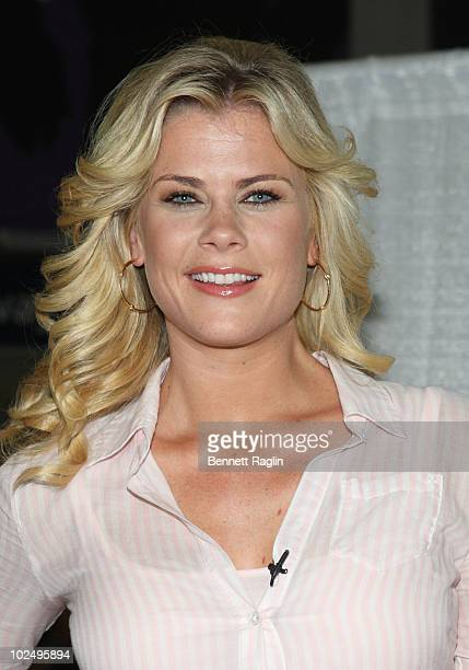 TV personality Alison Sweeney promotes Crest ProHealth's Summer of Sensitivity Campaign at Penn Station on June 28 2010 in New York City