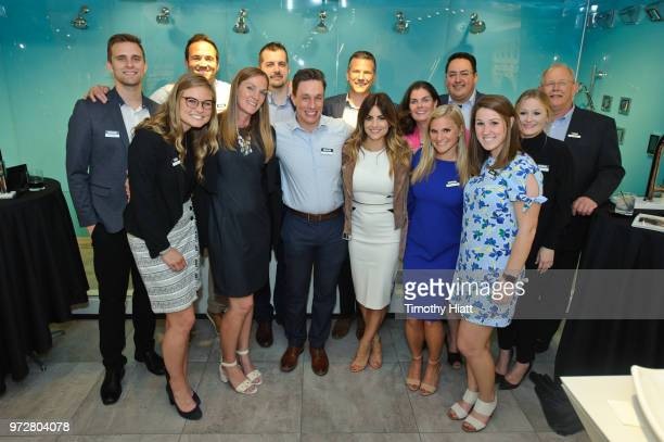 HGTV personality Alison Victoria and guests attend Kohler Celebrates Design Trends with Alison Victoria on June 12 2018 in Chicago Illinois