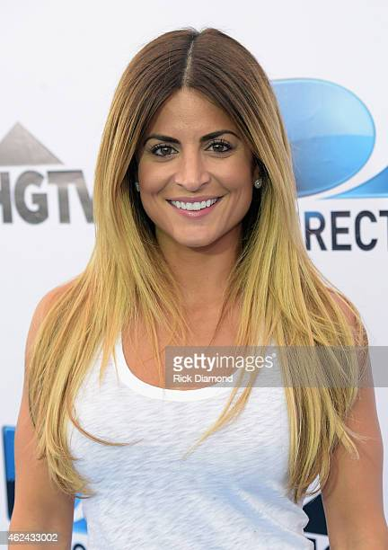 TV personality Alison Victoria attends DirecTV Super Fan Festival Day 1 at the Pendergast Family Farm on January 28 2015 in Glendale Arizona