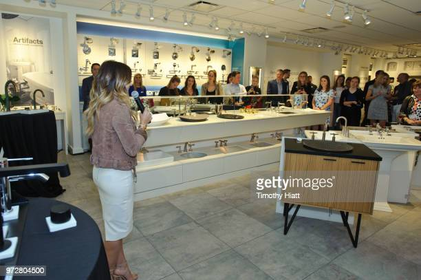 HGTV personality Alison Victoria attends Kohhler Celebrates Design Trends with Alison Victoria on June 12 2018 in Chicago Illinois