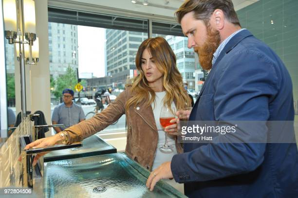 HGTV personality Alison Victoria attends Kohhler Celebrates Design Trends with Alison Victoria on June 12 2018 in Chicago Illinois