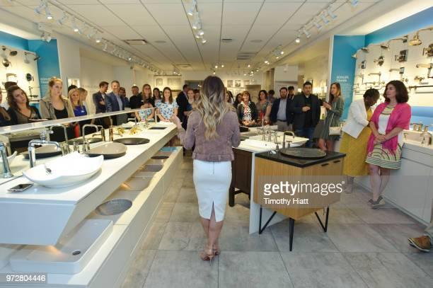 HGTV personality Alison Victoria attends Kohler Celebrates Design Trends with Alison Victoria on June 12 2018 in Chicago Illinois