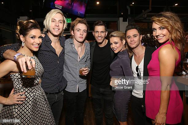 TV personality Allison Holker musician Riker Lynch singer Andy Grammer TV personality Jenna Johnson TV personality Sasha Farber and TV personality...