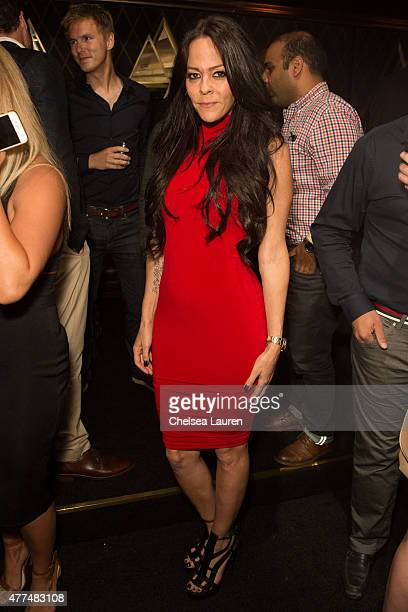 TV personality Allison Melnick attends the Bootsy Bellows ReOpening at Bootsy Bellows on June 16 2015 in West Hollywood California