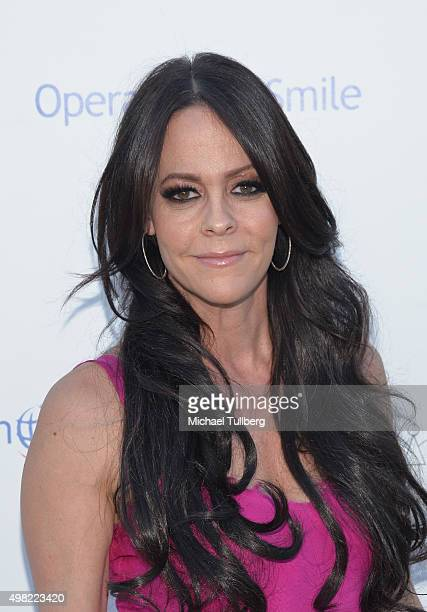 TV personality Allison Melnick attends the Petit Maison Chic and Operation Smile Kids Charity Fashion Show on November 21 2015 in Beverly Hills...